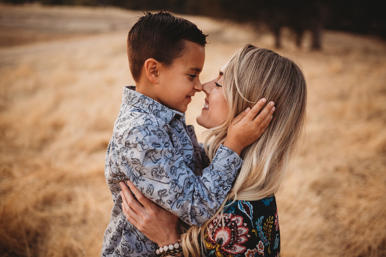 A boy and his mom have a sweet moment   Sweet Beginnings Photography by Stephanie   Sacramento Newborn and Family Photographer