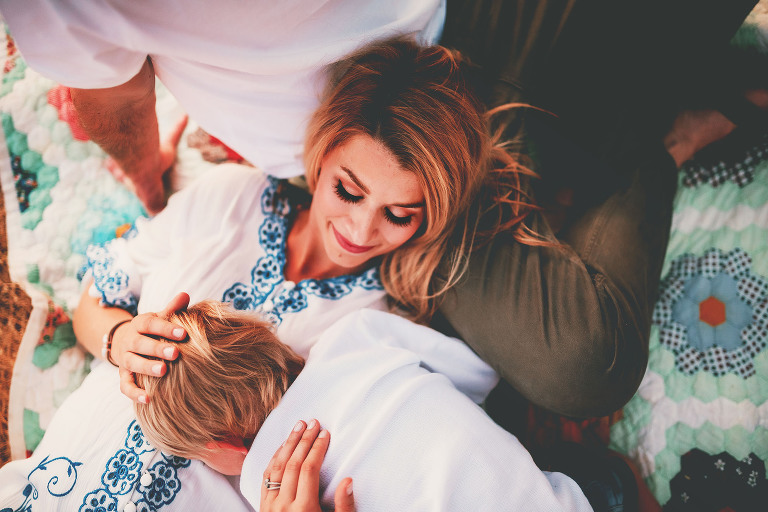 A boy lays on his mother  | Sweet Beginnings Photography by Stephanie | Sacramento Area Family Photographer